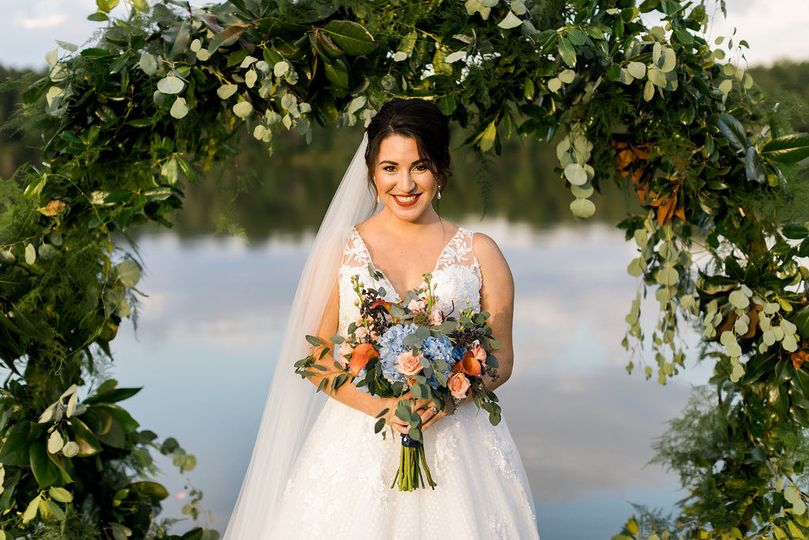 Waterfront bride