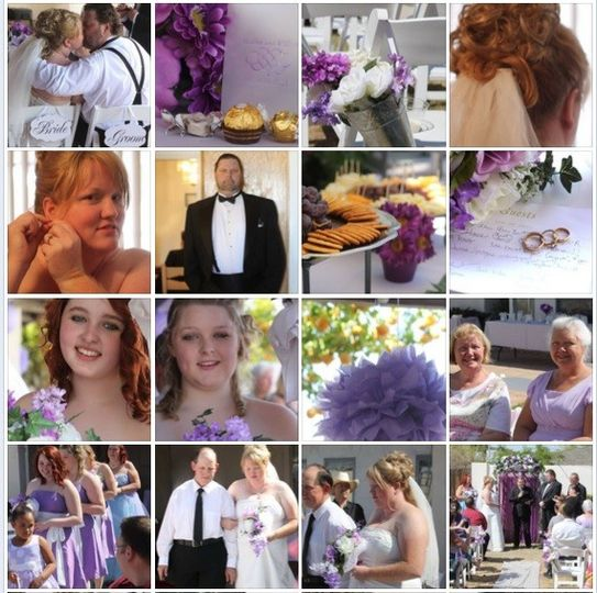 collage heather and bil