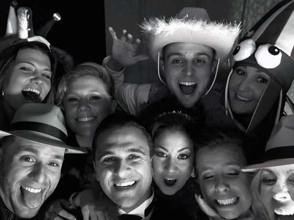 Although our record is 12 people in our photo booth enclosure that all made it into the photo,...