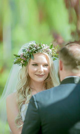 Bride Morgan, Makeup by Me