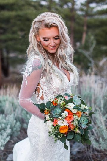 Bride Carly De Silva