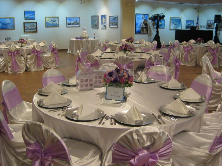 Lavender ribbons