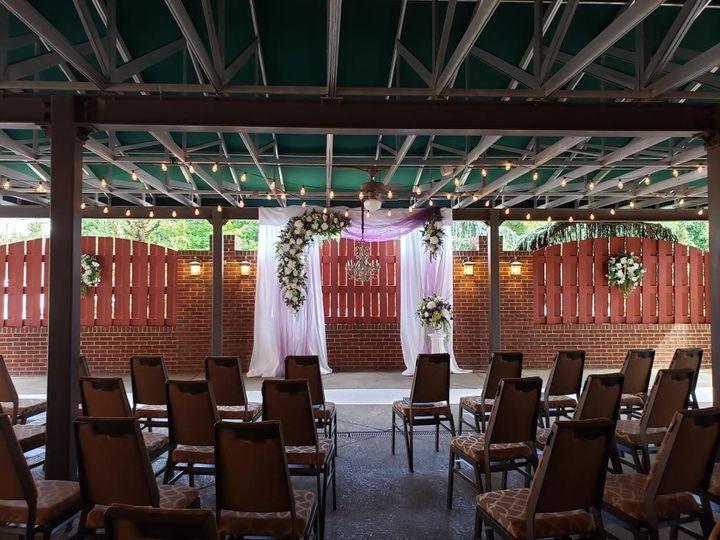 PA Terrace Ceremony