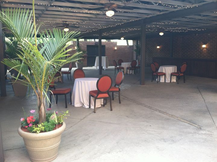 Tmx 1416341214834 Terrace With Flowers.20 Harrisburg wedding venue