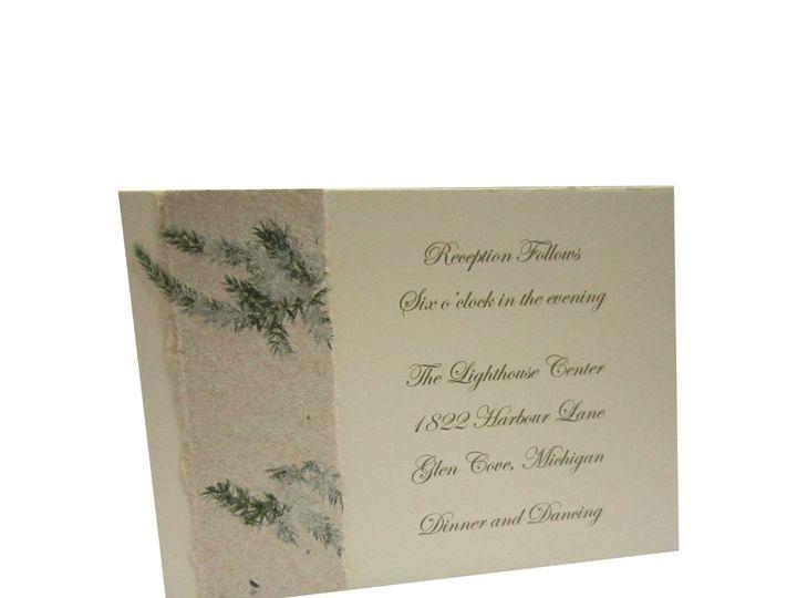 Tmx 1362502994891 Naturalfernreceptioncutout Saint Louis wedding invitation
