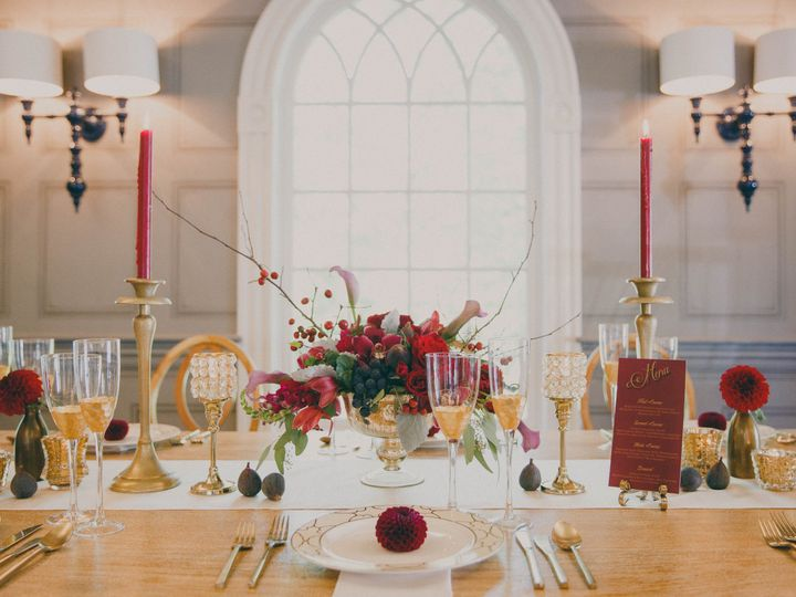 Fine dining setup