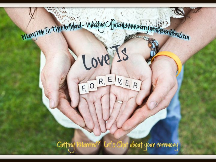 Tmx Hand Forever 51 711144 158923787231578 Superior, WI wedding officiant