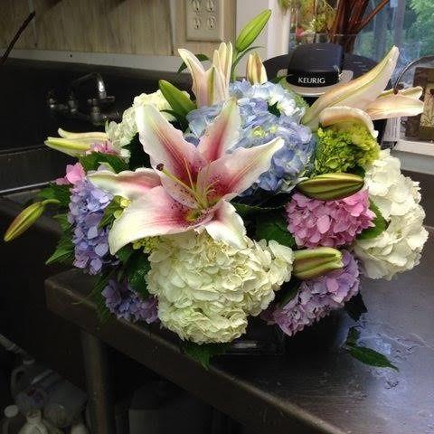 Big flower centerpiece