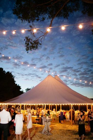 nightweddingtentlights