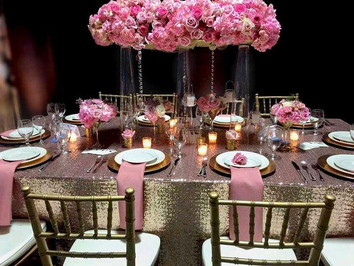 Tmx Rose Sequins Table Setting 51 528144 1572290567 Poughquag, NY wedding rental