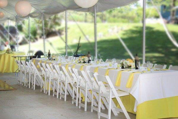 Tmx Yellow Table Cloth Rental 51 528144 1572290597 Poughquag, NY wedding rental