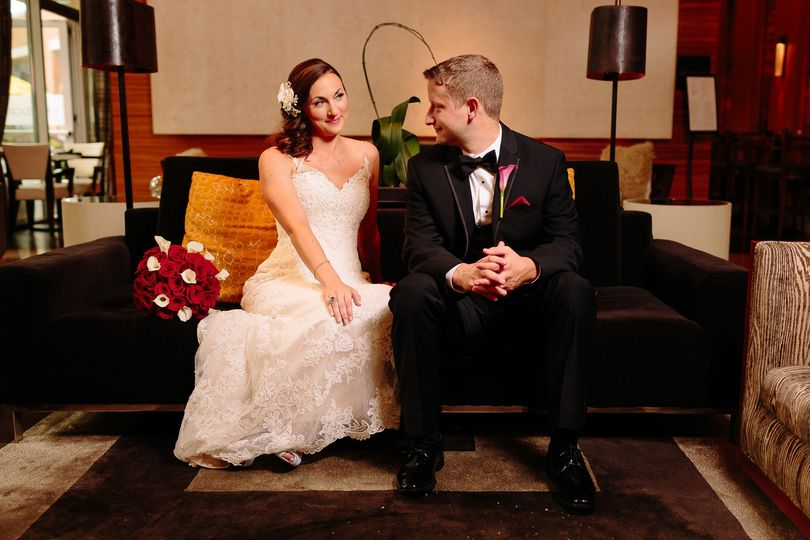 seattle pan pacific hotel wedding liz and brandon