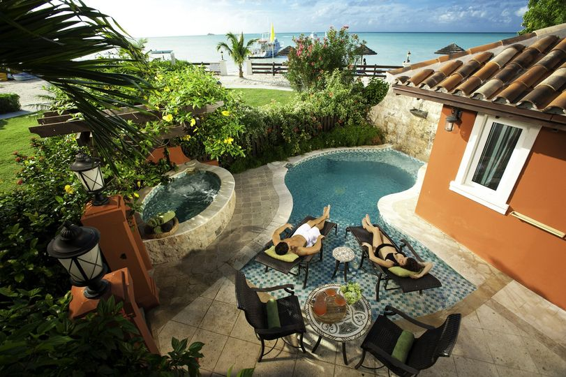 Sandals Grand Antigua Resort and Spa - Mediterranean One Bedroom Butler Villa Suite with Private...