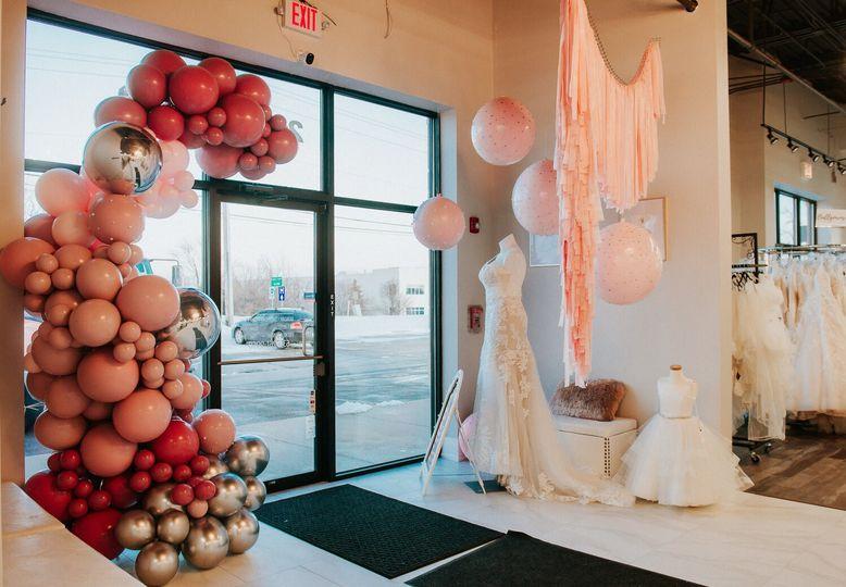 Dresses and decor