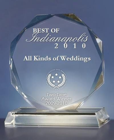 Two time award winner of best wedding officiants