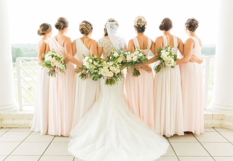 Bride and bridesmaids - 88 Love Stories