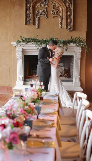 Intimate small wedding