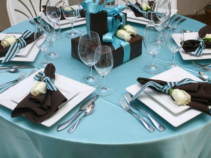 Tmx 1467122400546 Tiffany Table Setup Montgomeryville, Pennsylvania wedding rental