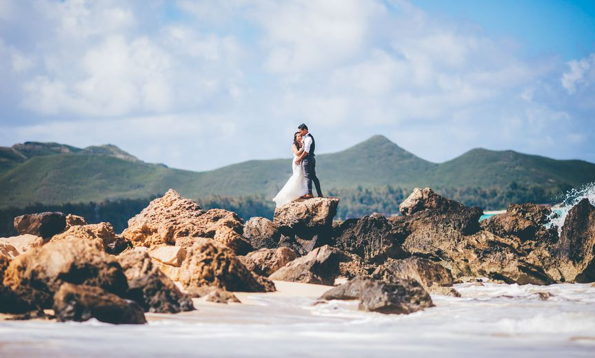 Elopement Photographer. Oahu, Hawaii - By Keoni Michael
