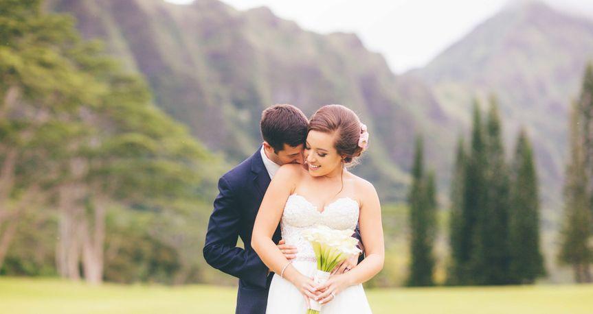 Koolau Ballroom Wedding Pictures - By Keoni Michael