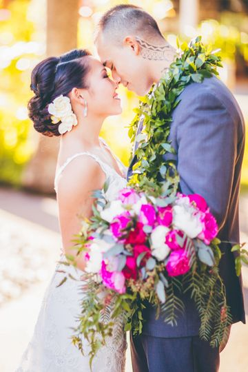 Bride & Groom Wedding Photos - By Keoni Michael