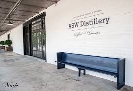 Entrance to the distillery