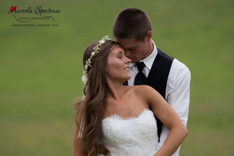 bride groom snuggle marshville nc field