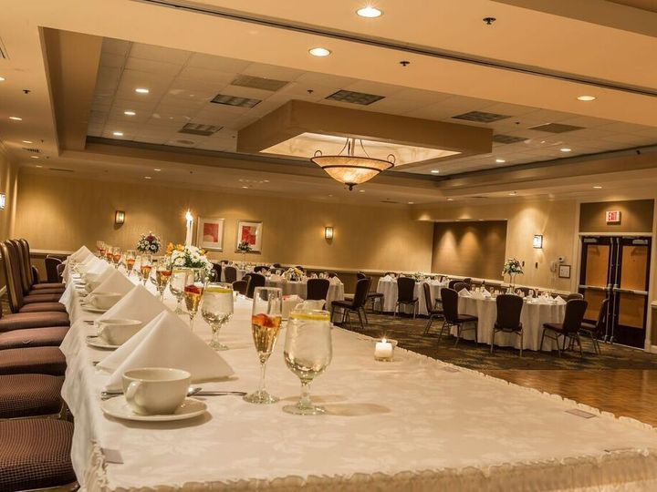 Tmx 1473946655827 Wedding Head Table1 Feasterville Trevose wedding venue