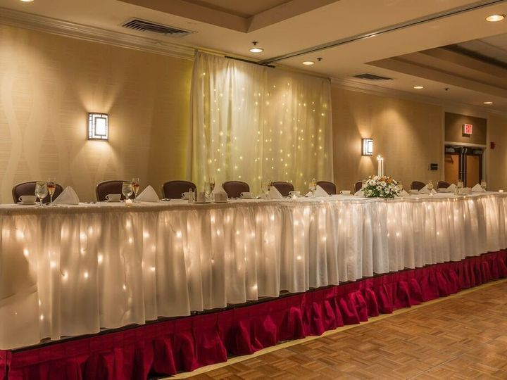 Tmx 1473946674153 Wedding Head Table Feasterville Trevose wedding venue