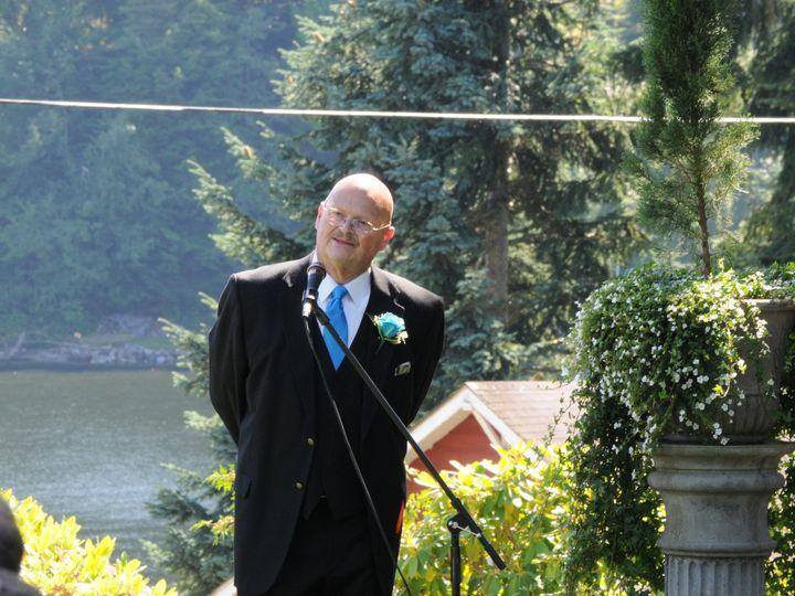 Tmx 1480545659420 Dalemicrophoneblahblah Monroe, Washington wedding officiant