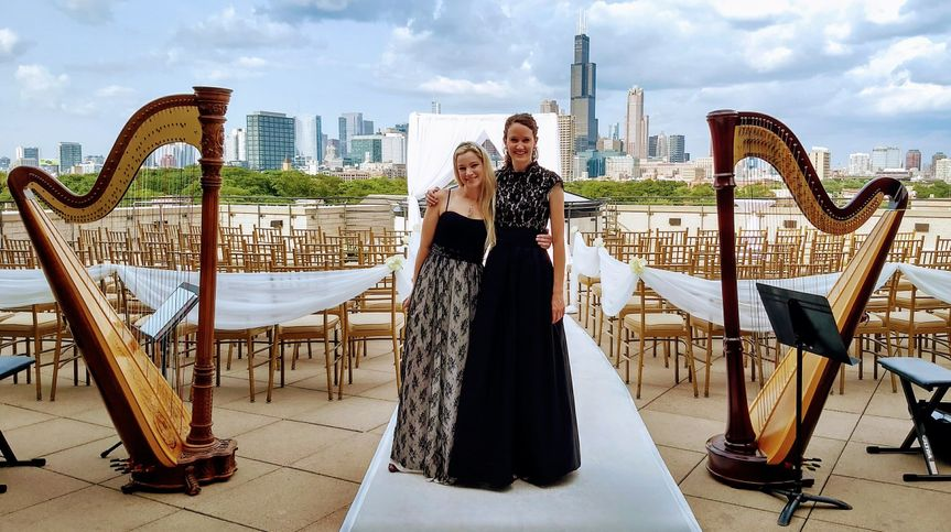 2HarpsChicago Wedding Duo - available upon request