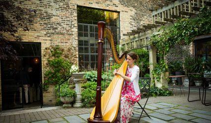 Harpist LeAnne Bennion