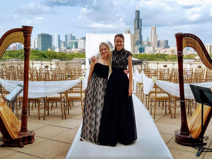 Tmx 1538588731 373b0530082bccc0 1538588729 923a40ad6d319a87 1538588729973 4 Chicago Harp Duo Chicago, IL wedding ceremonymusic