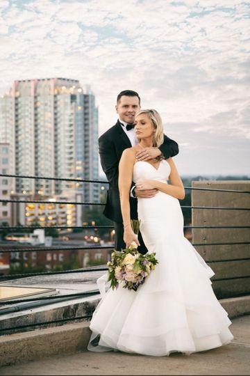 Rooftop weddings