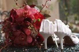 bouquetwithshoes