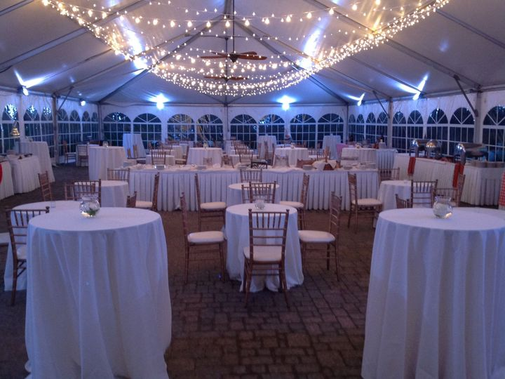 Tmx 1534451735 6f9a5daca6e19a24 1534451733 B9bc9496f32e7678 1534451729552 5 New Lights In Tent Port Washington, New York wedding venue