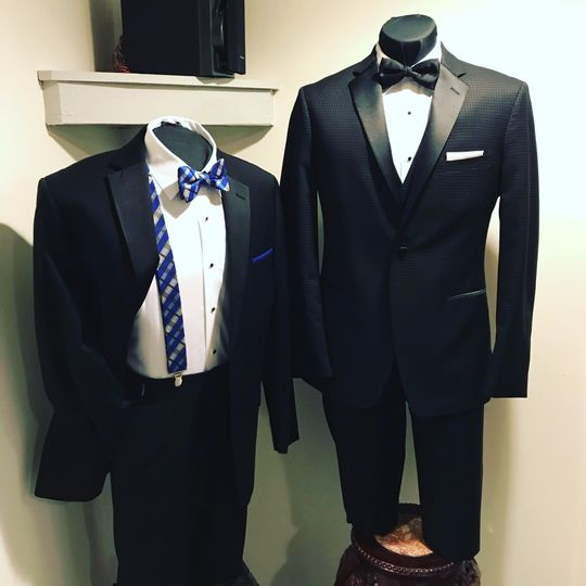 Great selection of tuxes!