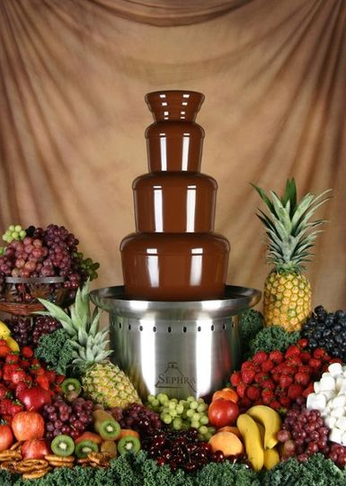 Make an event special with the taste of warm chocolate.  Inexpensive to rent and easy to use.  Try...