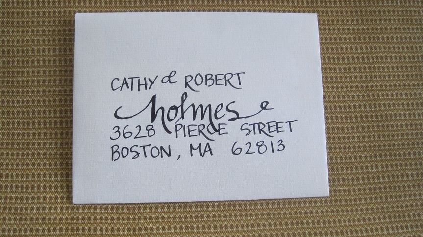 Chandler designs calligraphy invitations elkhorn ne weddingwire