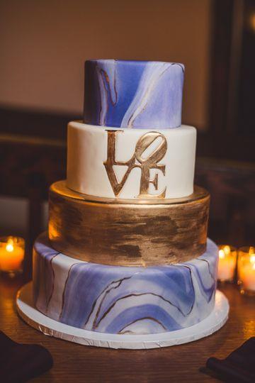 Philadelphia Love Cake