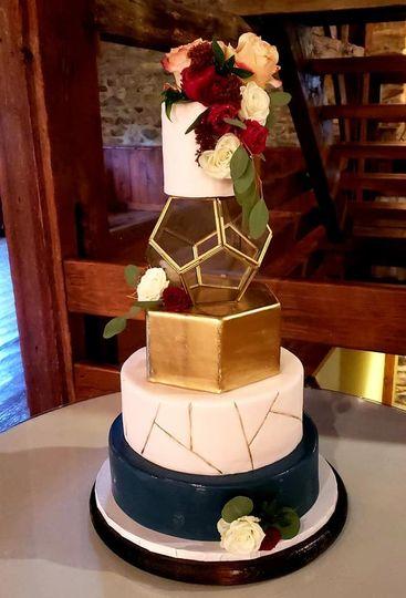 Terrarium cake