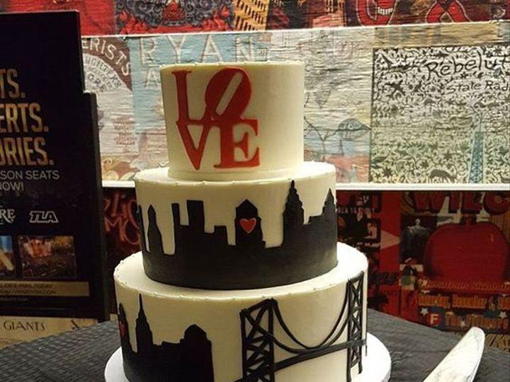 Tmx 1535900300 E6447973494652c9 Phillycake Phoenixville, Pennsylvania wedding cake