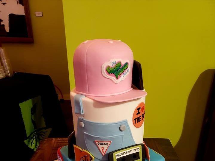 Tmx 90s Cake 51 494344 157385099736040 Phoenixville, Pennsylvania wedding cake