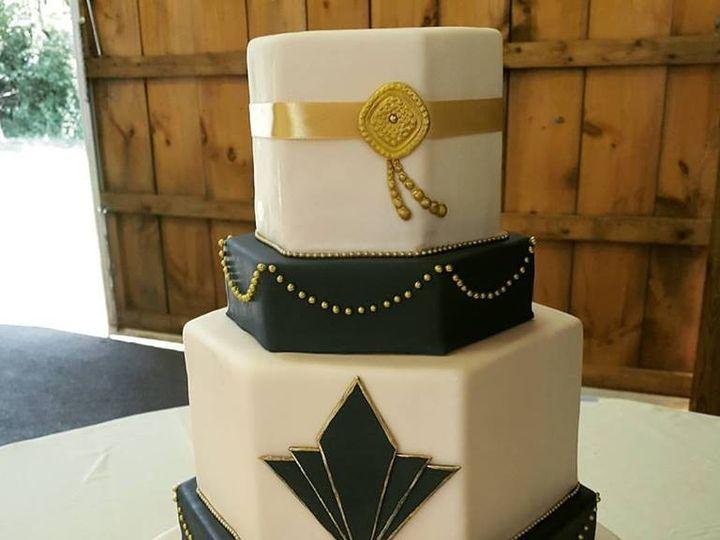 Tmx Art Deco Cake 51 494344 157385092864383 Phoenixville, Pennsylvania wedding cake