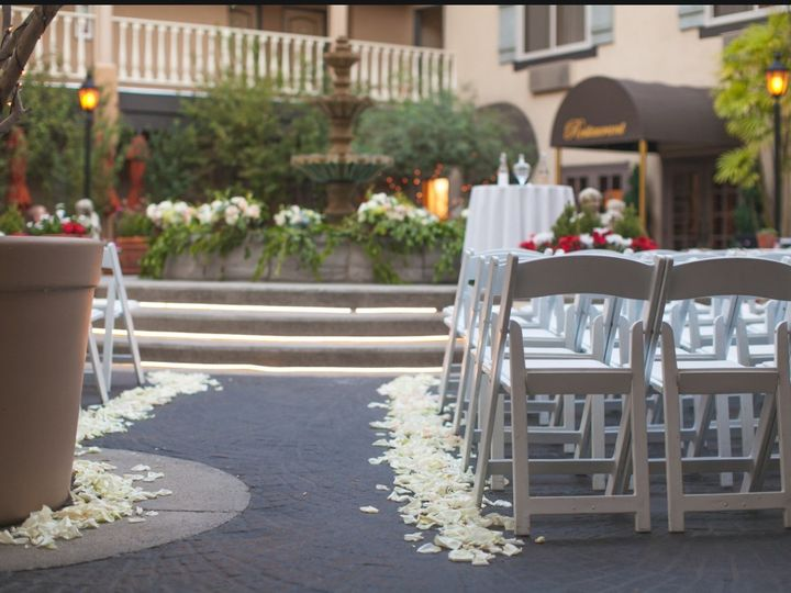 Tmx 1457026860860 Ceremony Courtyard 1 Costa Mesa, CA wedding venue