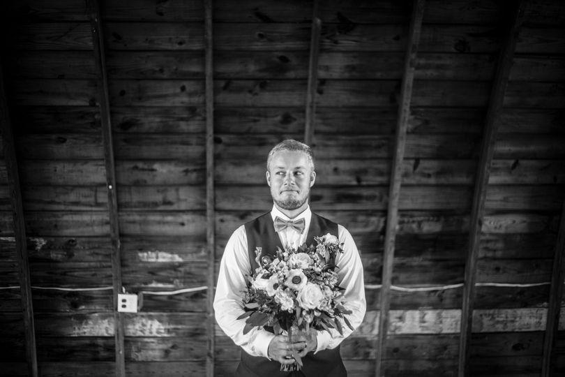 The groom - Mike Burley Photography