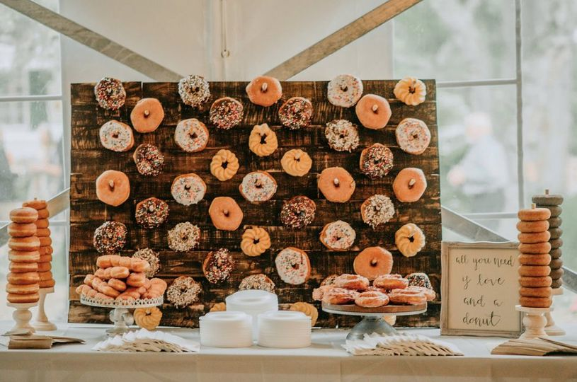 Donut Wall Rental