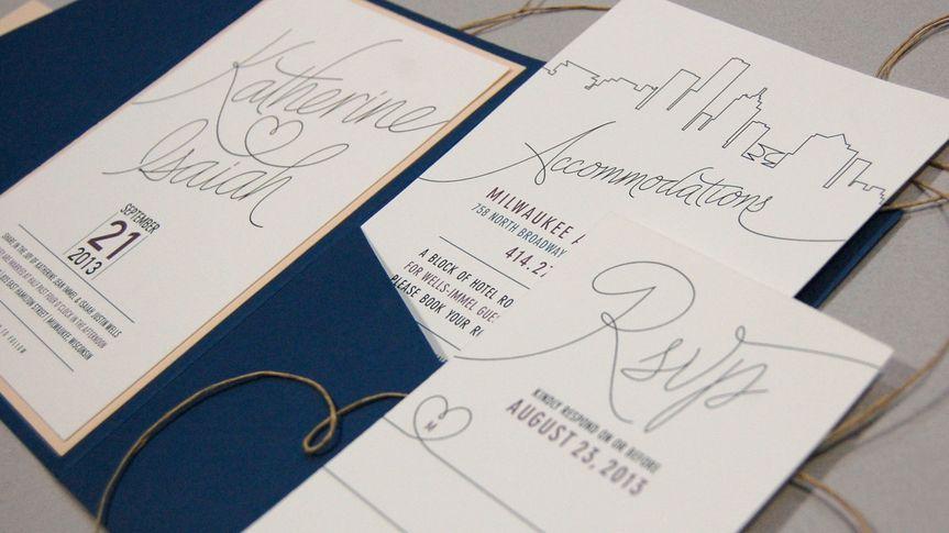Uniquely Milwaukee invitations