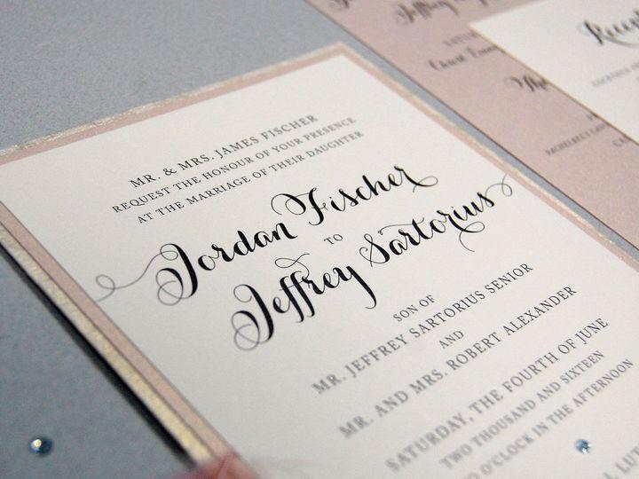 Tmx 1513691911621 Paperwhitesclassicneutrals2 Wauwatosa, WI wedding invitation