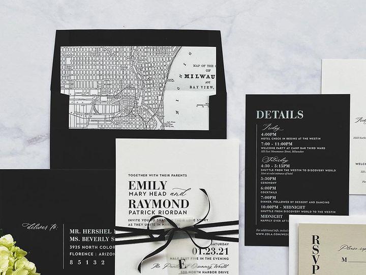 Tmx Californiamodern Lores 900 51 168344 161600945083212 Wauwatosa, WI wedding invitation